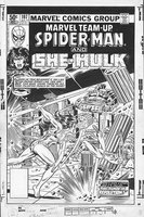 Marvel Team up Spider-man and She-Hulk