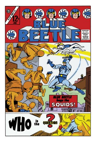 The Blue Beetle #1 Steve Ditko