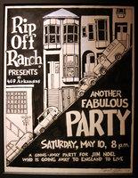 Gilbert Shelton SF Party Poster