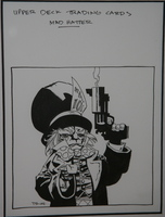 Mad Hatter DC Trading Card